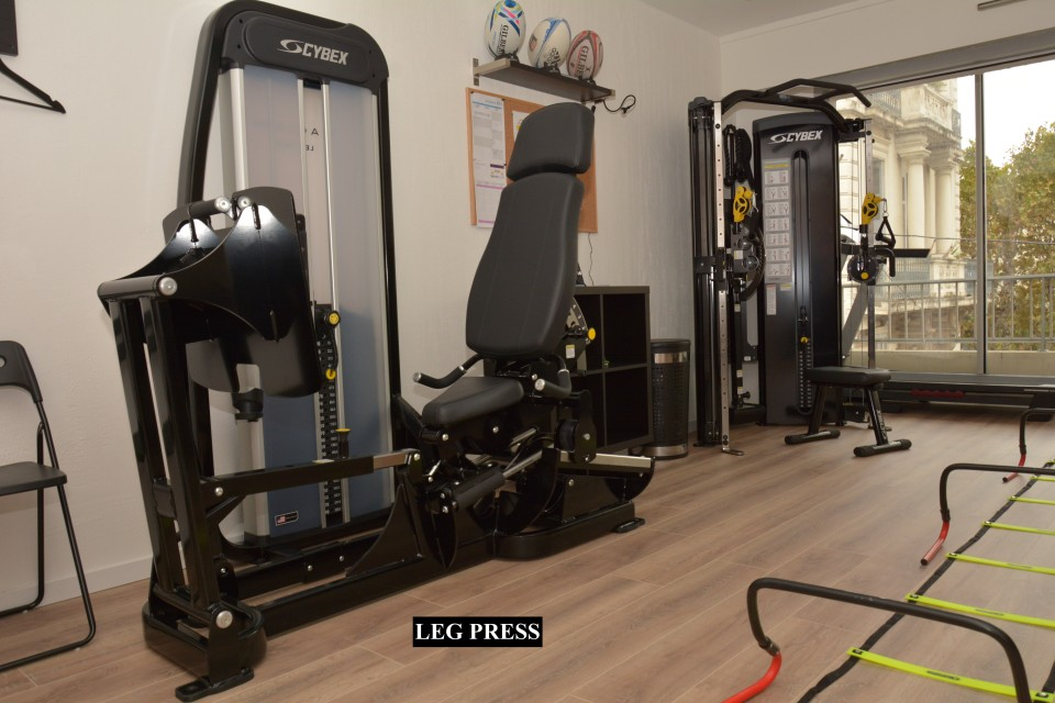 Leg Press CYBEX Eagle : CCF / Explosivité / Proprioception